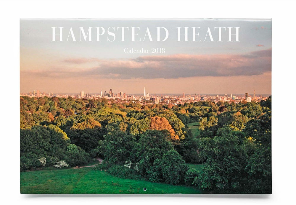 Image of Hampstead Heath Calendar 2018