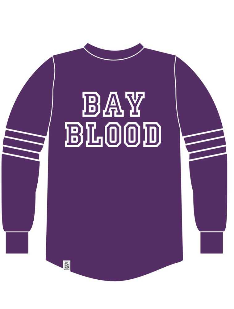Image of Women's College Shirt (purple)