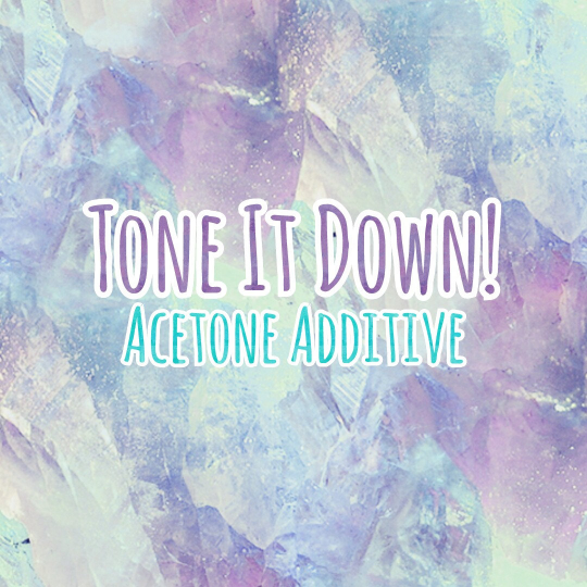Image of Tone it Down! acetone additive