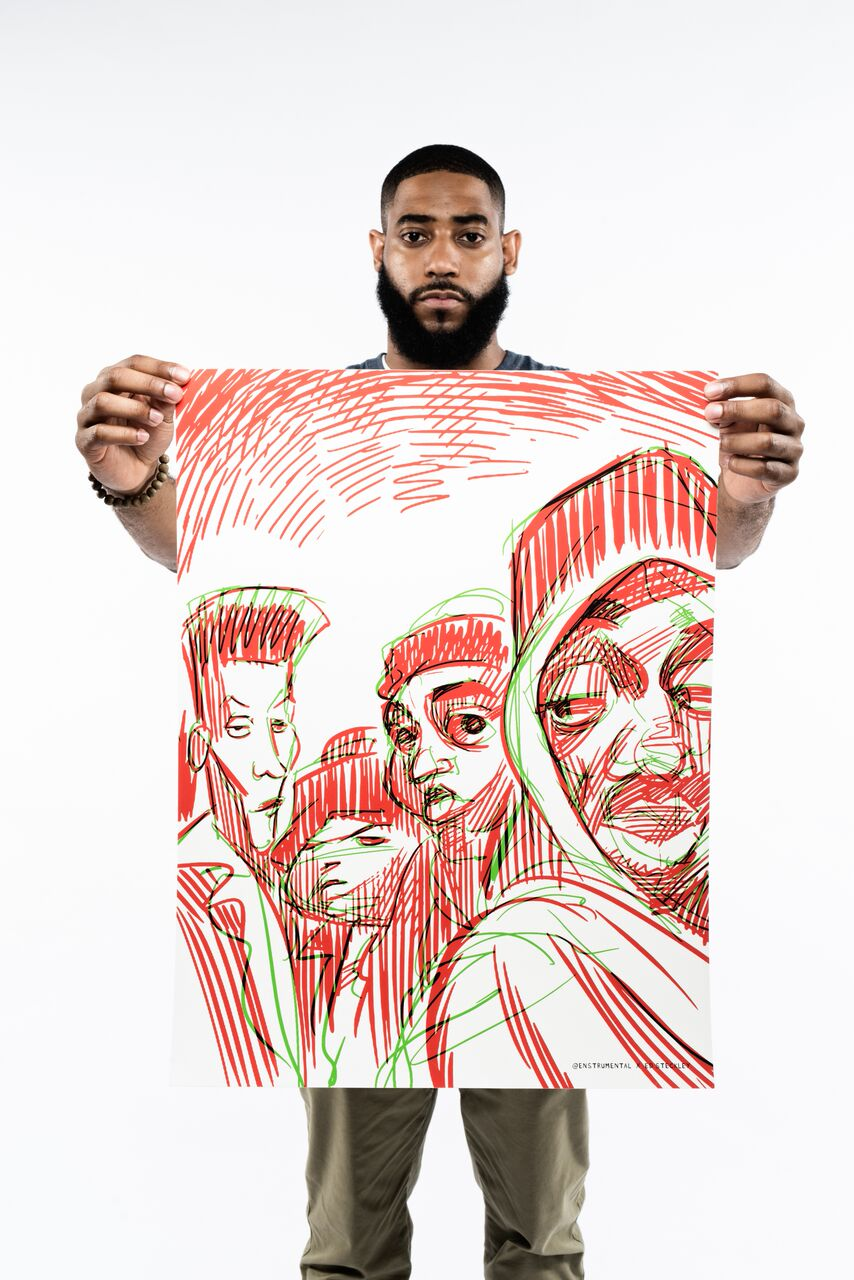 Image of THE JUICE PROJECT (Juice Crew) - Color - PRINT