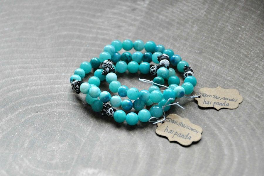 Image of Amazonite Panda Bracelet
