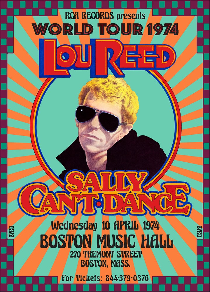 Image of LOU REED: Sally Can't Dance World Tour 1974