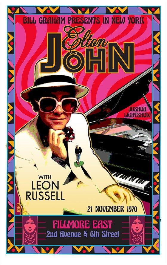 Image of ELTON JOHN Debut at Fillmore East 1970