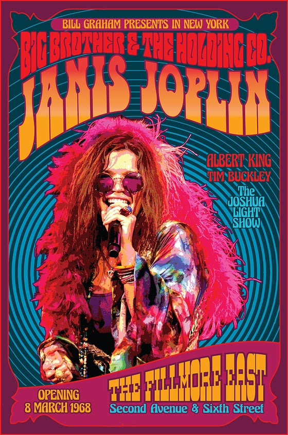 Image of JANIS JOPLIN w/ Big Brother & the Holding Company