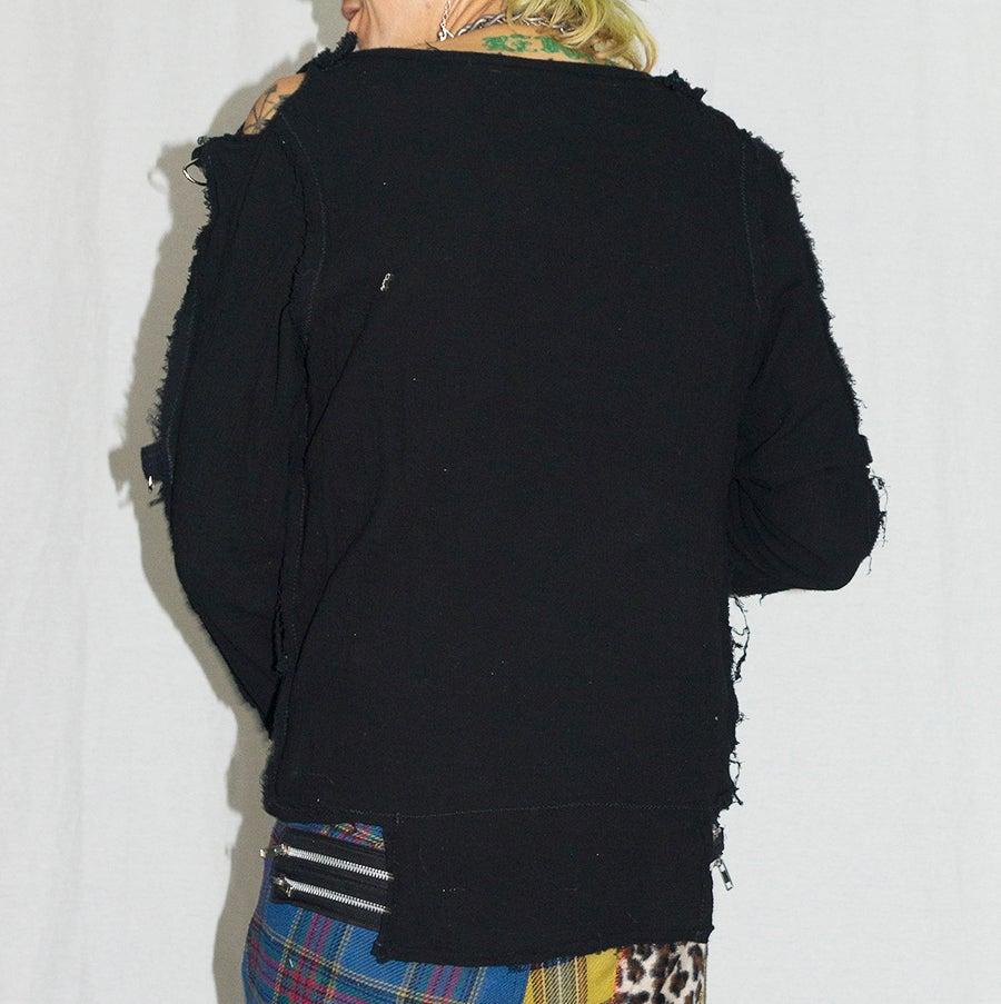 Image of DISCHARGE black bondage shirt