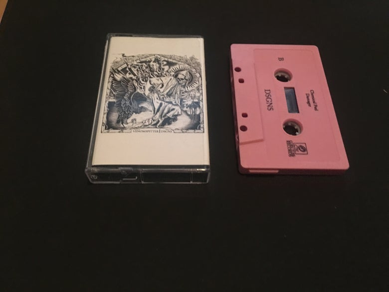 Image of DSGNS/Venomspitter Split Tape