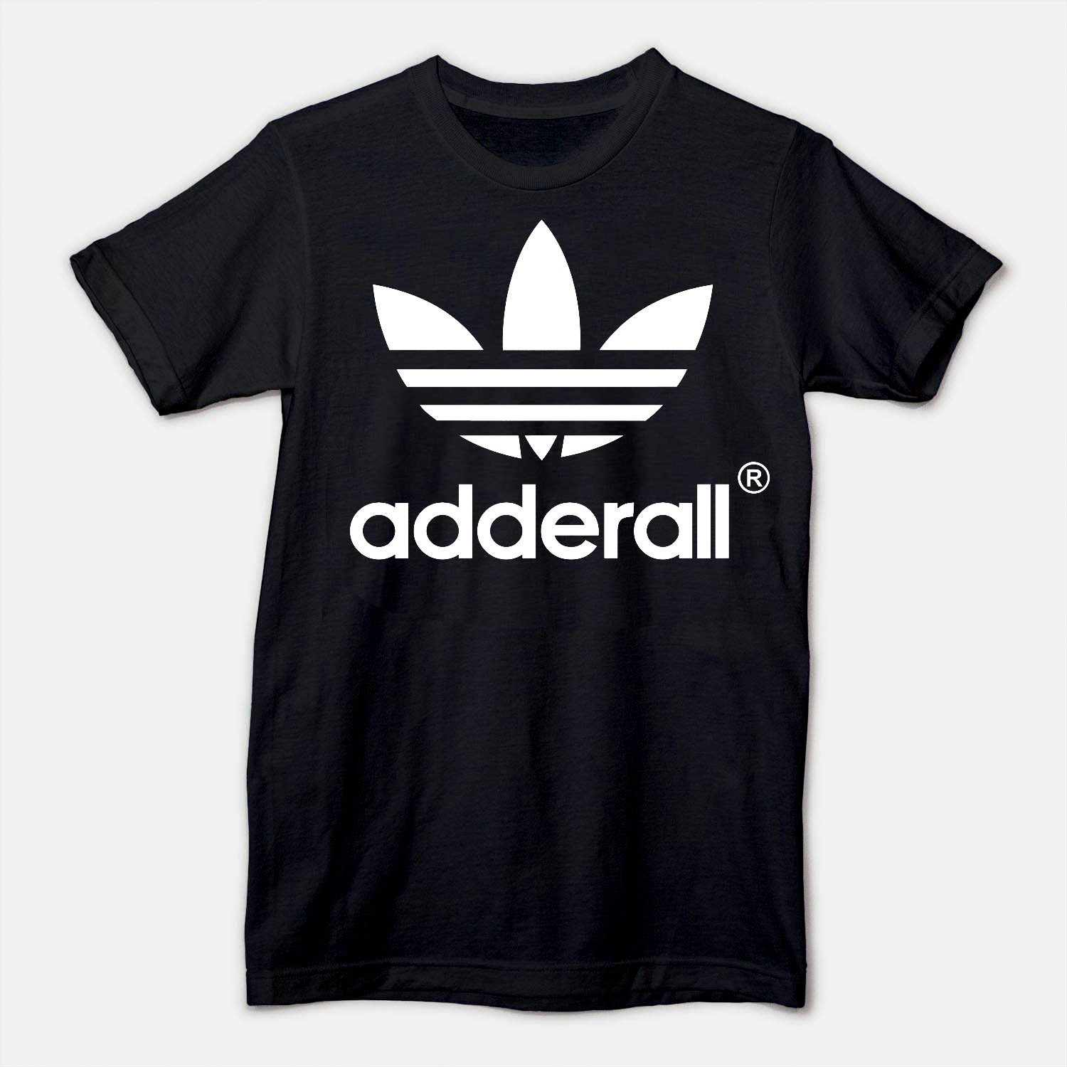 Image of ADDERALL TREFOIL - BLACK