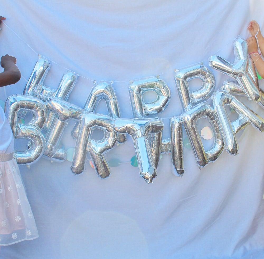 Image of Happy birthday balloon