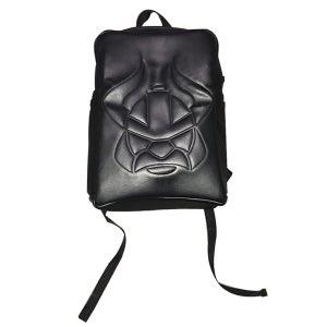 Image of Embossed Viking Backpack (Black)