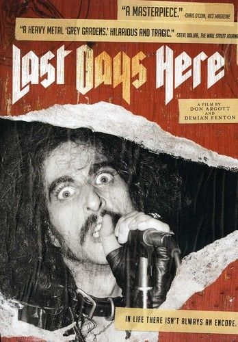 Image of Last Days Here documentary DVD