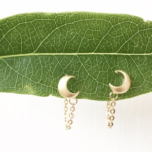 Image of Luna Chain Earrings