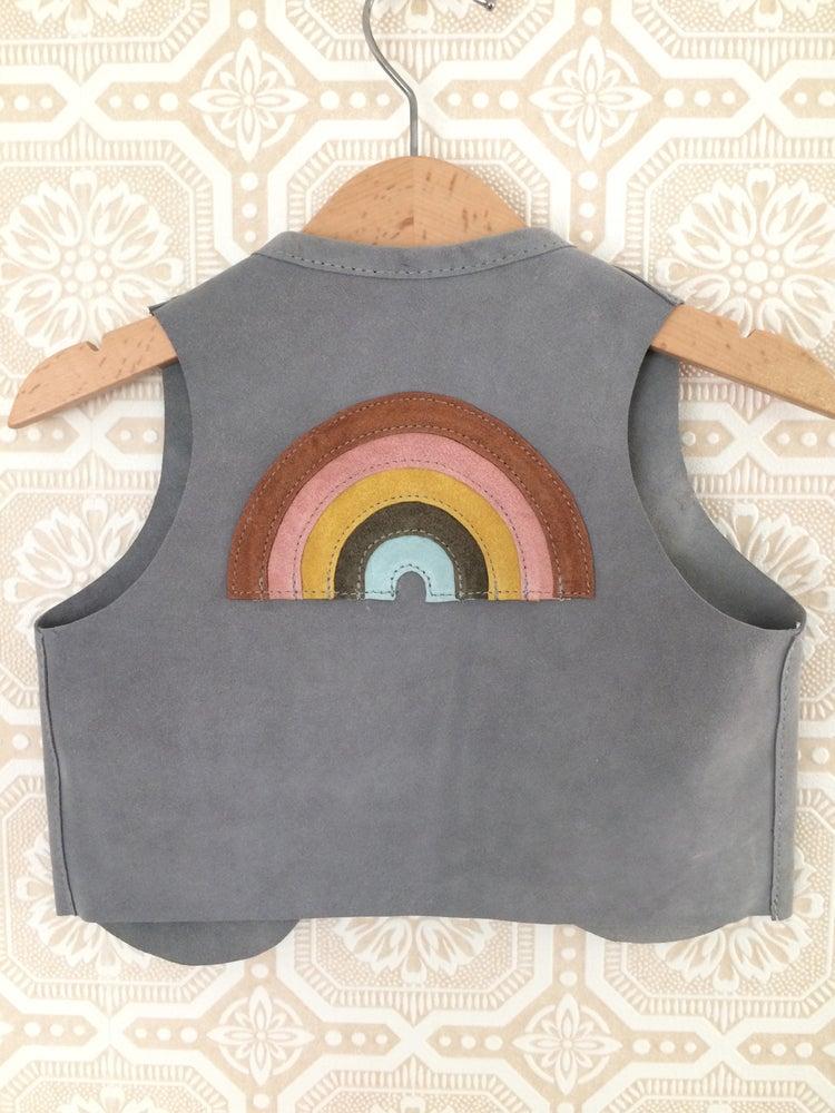 Image of COSTA SUR- Kids Paradise Suede Vest