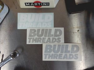 Image of Logo Stickers x3 - Vinyl Die Cut
