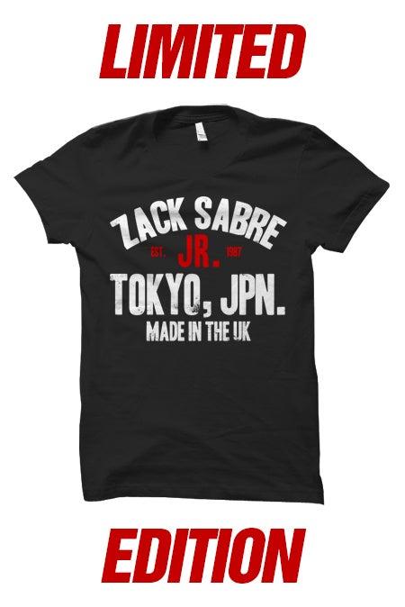 Image of Zack Sabre Jr. G1 Climax Tokyo T-Shirt