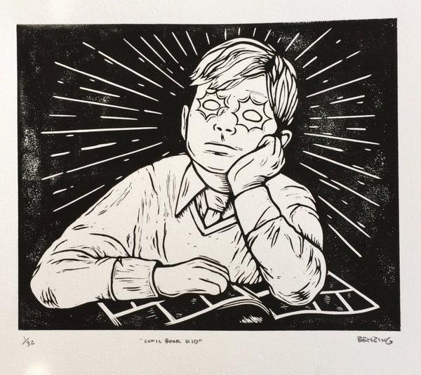 Image of Comic Book Kid Print