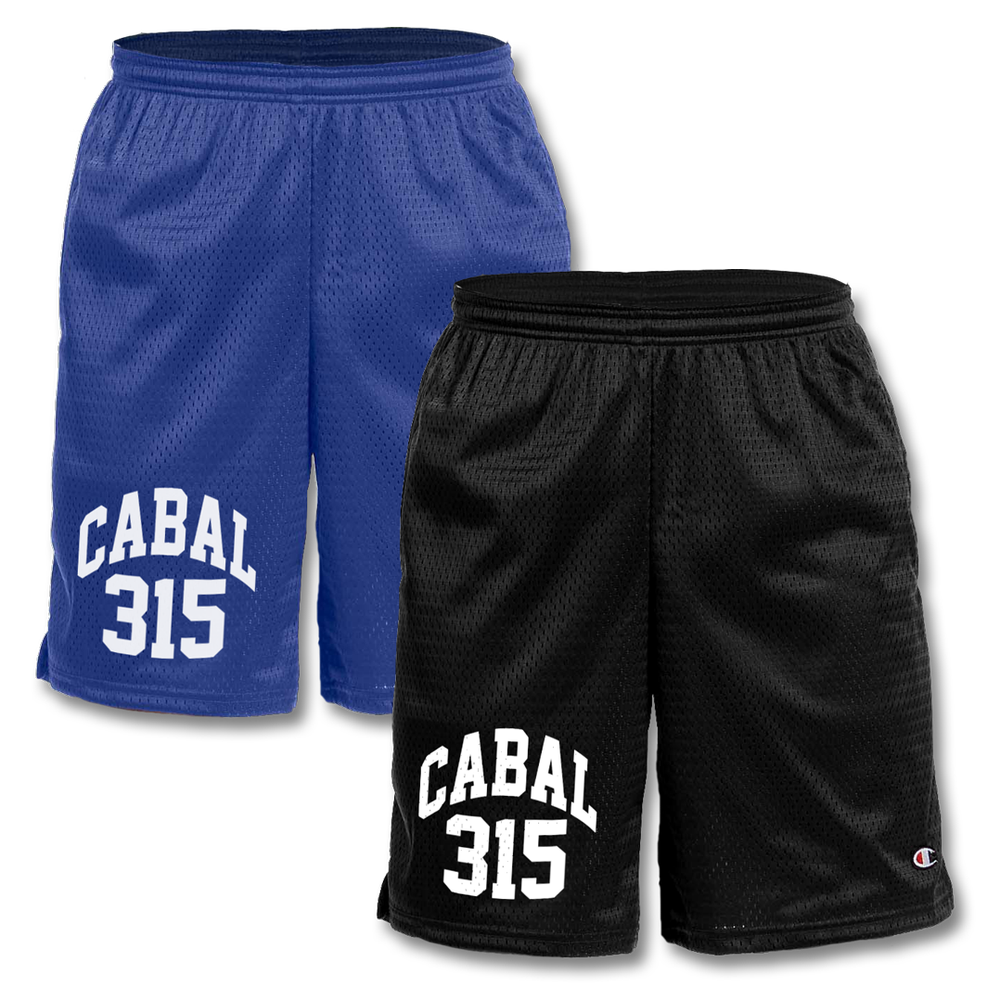 Image of Champion Mesh Gym Shorts