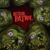 Image of Blood Patrol ‎– From Beyond And Below LP (180g green black marbled vinyl)