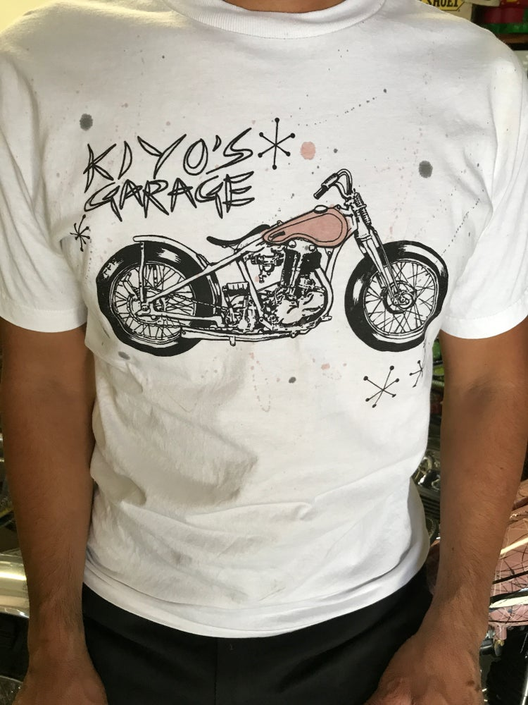 Image of Single Knuckle T-shirts with hand painted