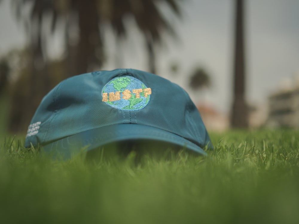 Image of Is My Shit Tight? World Hats (PEACOCK GREEN)