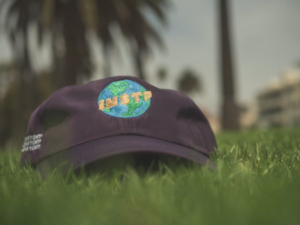 Image of Is My Shit Tight? World Hats (PURP)