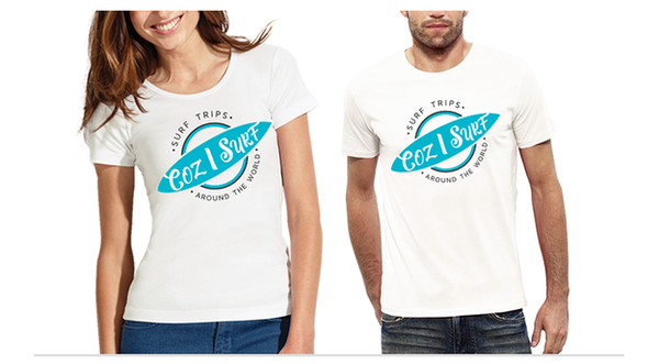 Image of T-shirt Coz I Surf