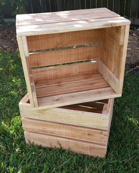 Image of Wooden crates
