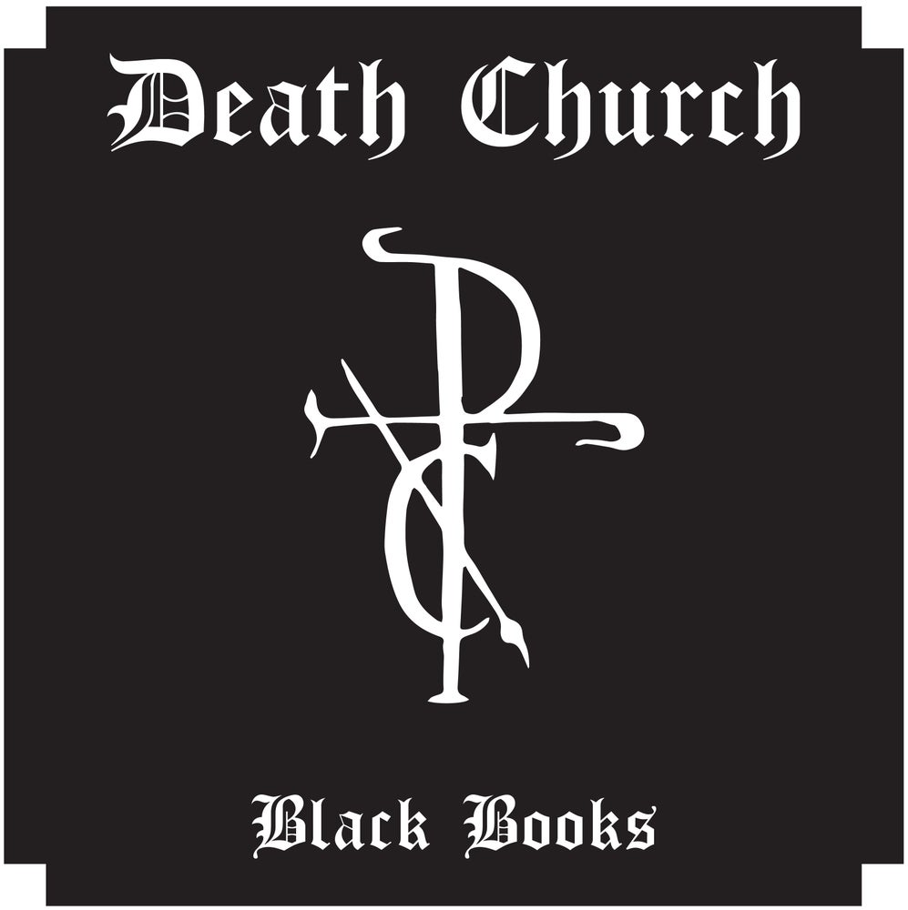 Image of DEATH CHURCH- 'BLACK BOOKS' LP