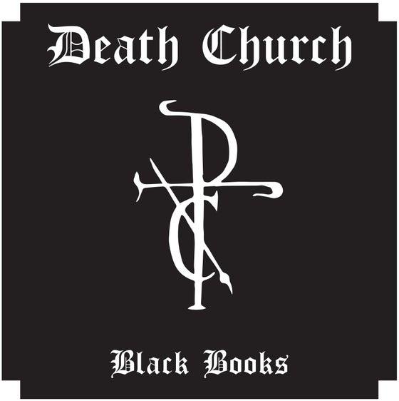 Image of DEATH CHURCH- 'BLACK BOOKS' LP