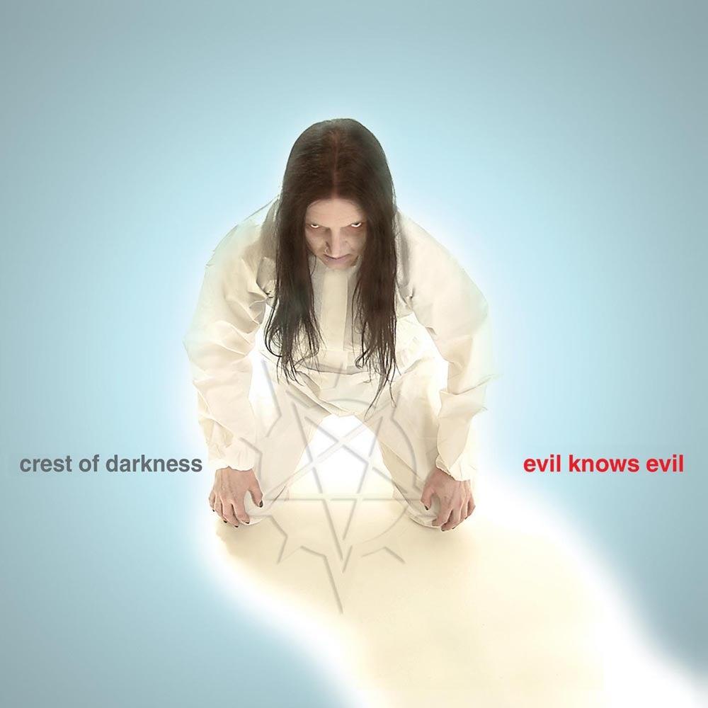 "Image of CREST OF DARKNESS ""Evil Knows Evil"" CD"