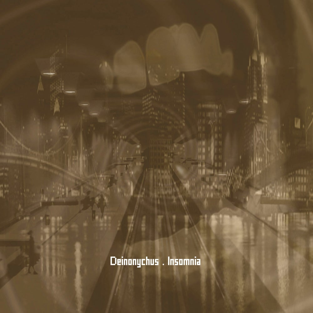 "Image of DEINONYCHUS ""Insomnia"" CD"
