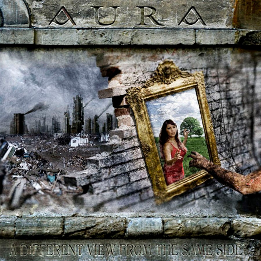 """Image of AURA """"A Different View From The Same Side"""" CD"""