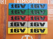 Image of Trimsport VW Golf Mk2 16V Side Badges