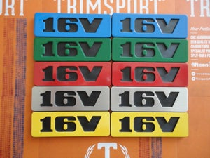 Image of Trimsport VW Golf Mk2 16V Side Badges