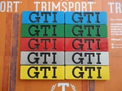 Image of Trimsport VW Golf Mk2 GTI Side Badges