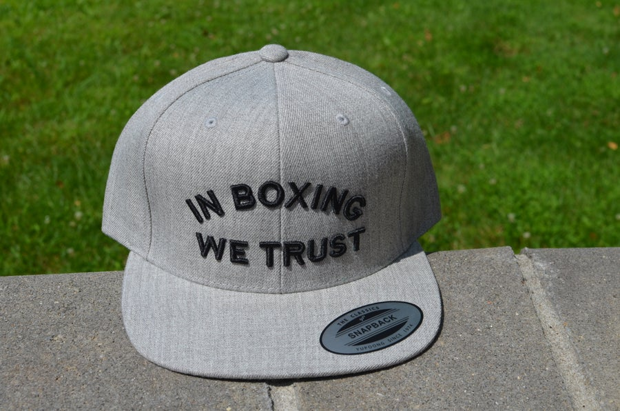 Image of Gray in Boxing we Trust SnapBacks