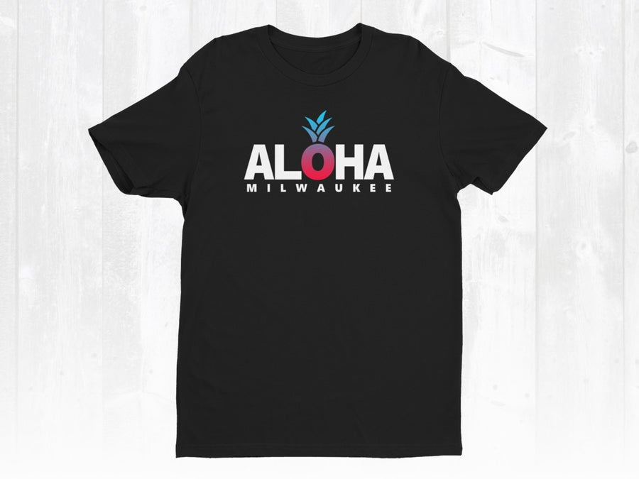 Image of Dragon Fruit Tee x Aloha Milwaukee Tee