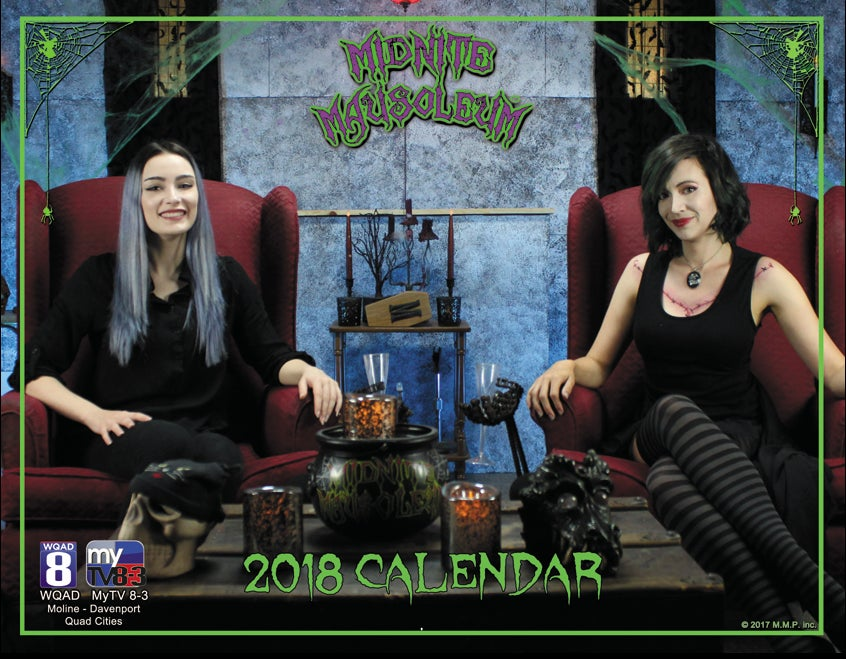 Image of Midnite Mausoleum 2018 Photo Calendar