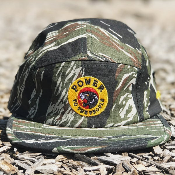 "Image of The ""Power To The People"" Hat in Tiger Camo"