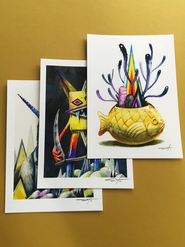 Image of Nightgardens Print Set