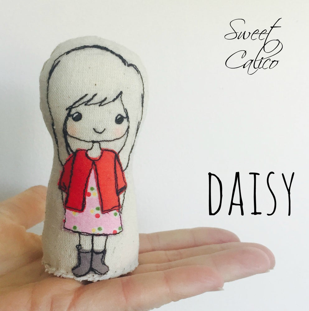 Image of Daisy doll pattern