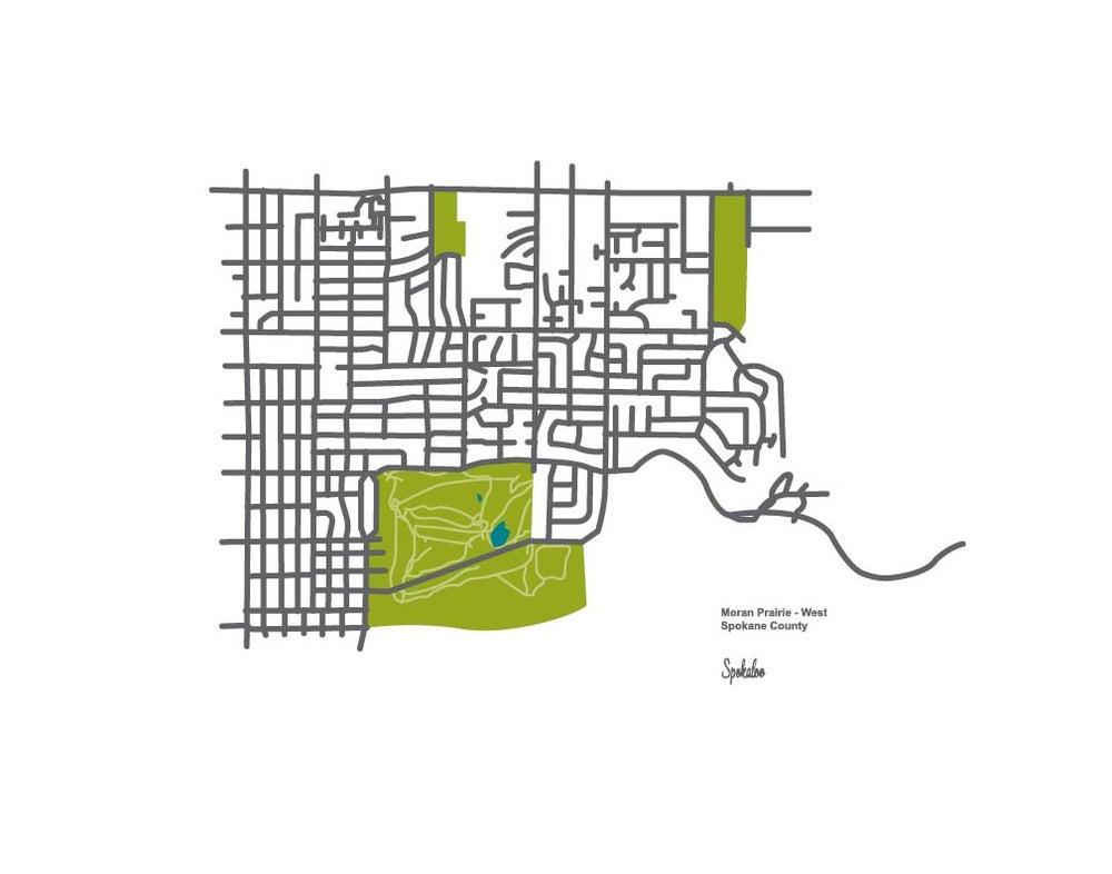Image of Moran Prairie - West - 11 x 14