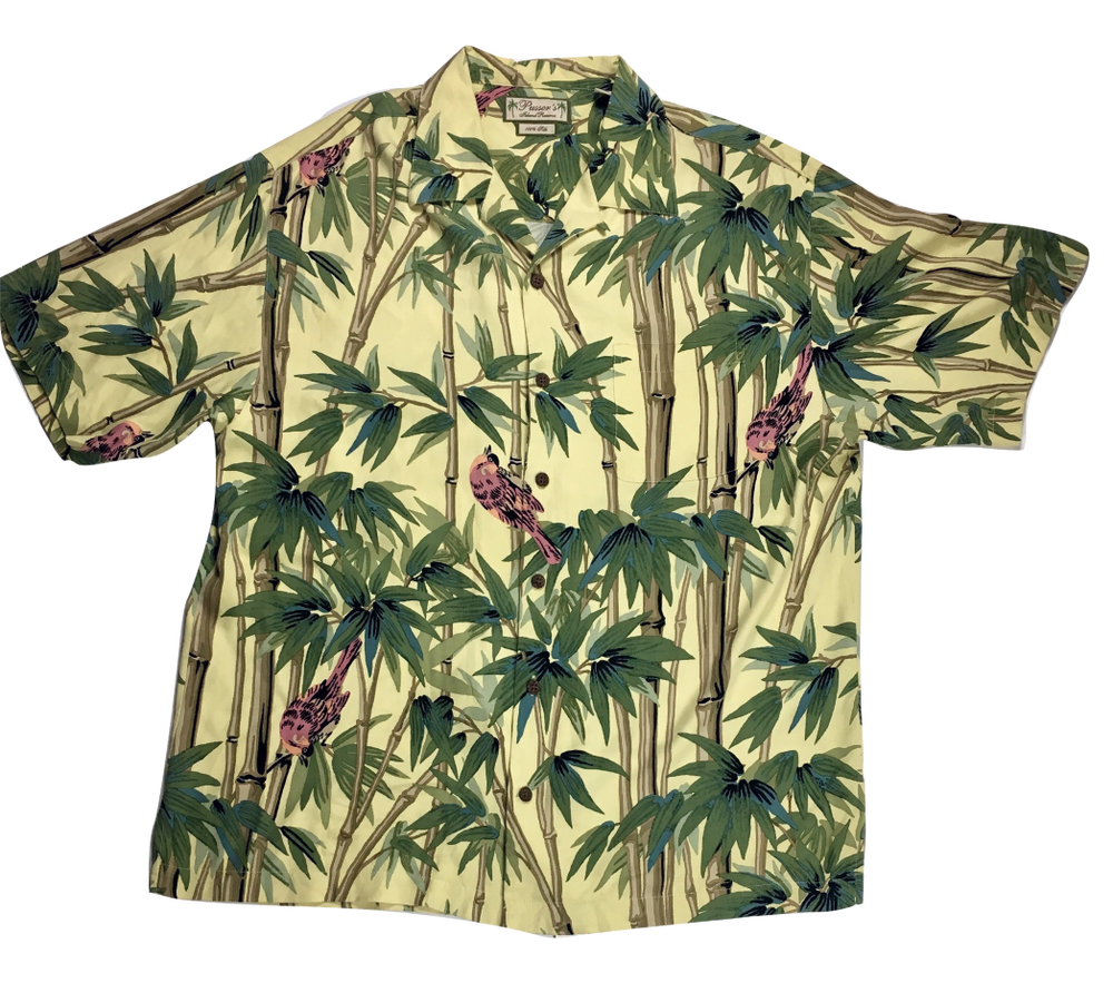 Image of Revere forest collar shirt