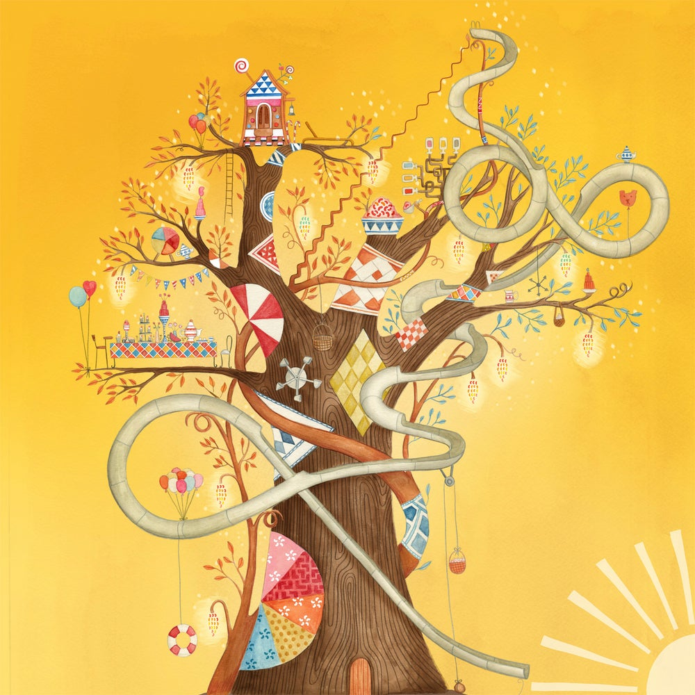 Image of My Magnificent Jelly Bean Tree, giclee print