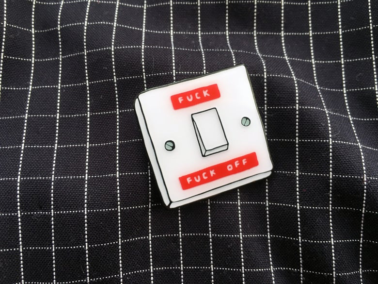 Image of Switch Enamel Badge