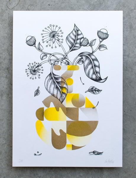 Image of Vase jaune