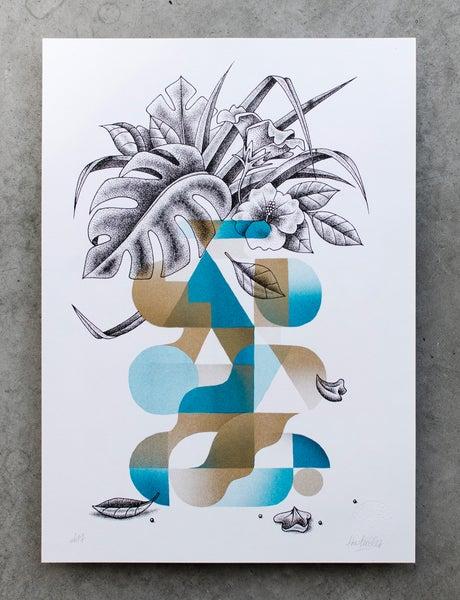 Image of Vase turquoise