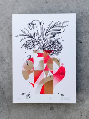 Image of Pack 3 cartes vases