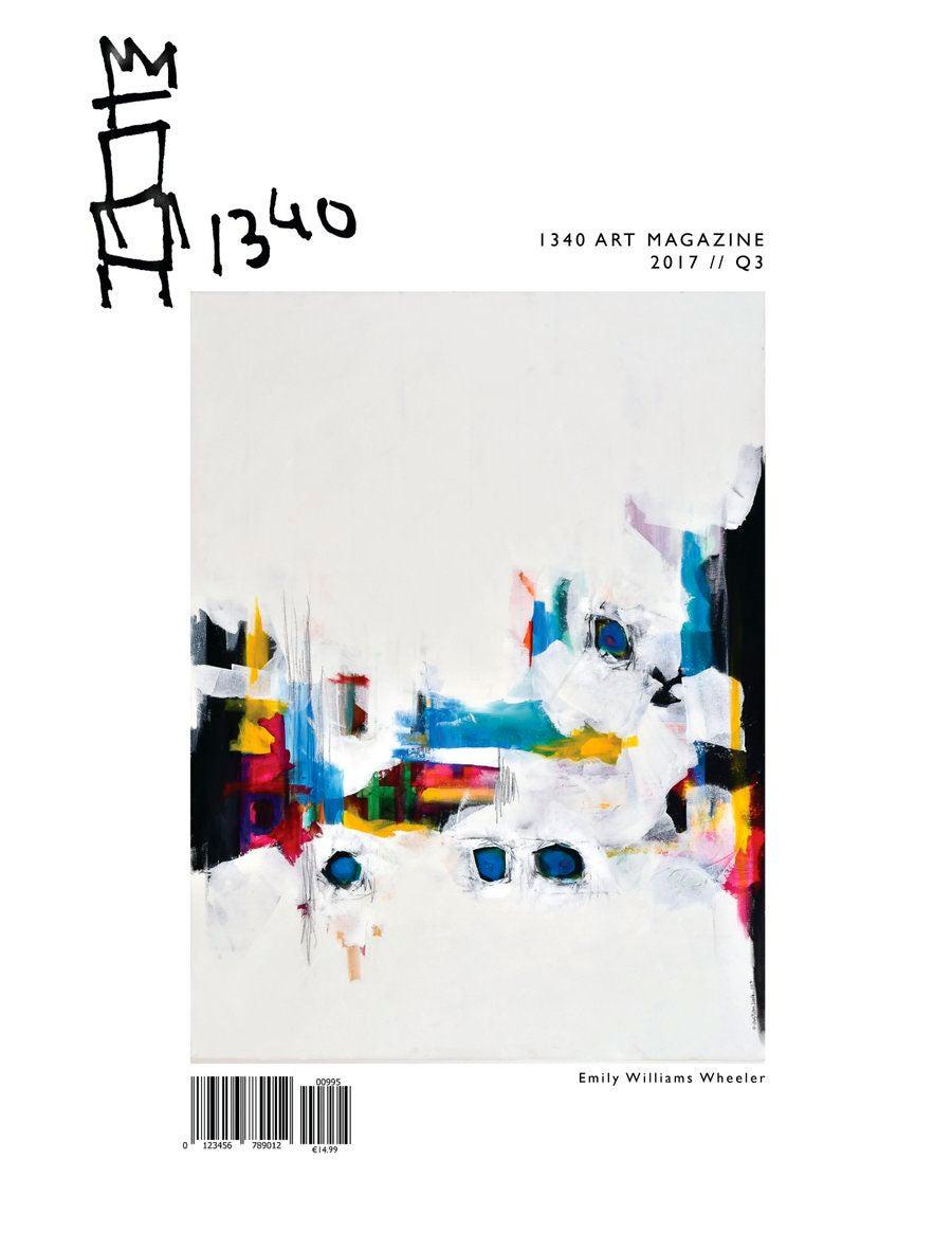 Image of LATEST EDITION:<br>1340ART Magazine (Q3 2017)