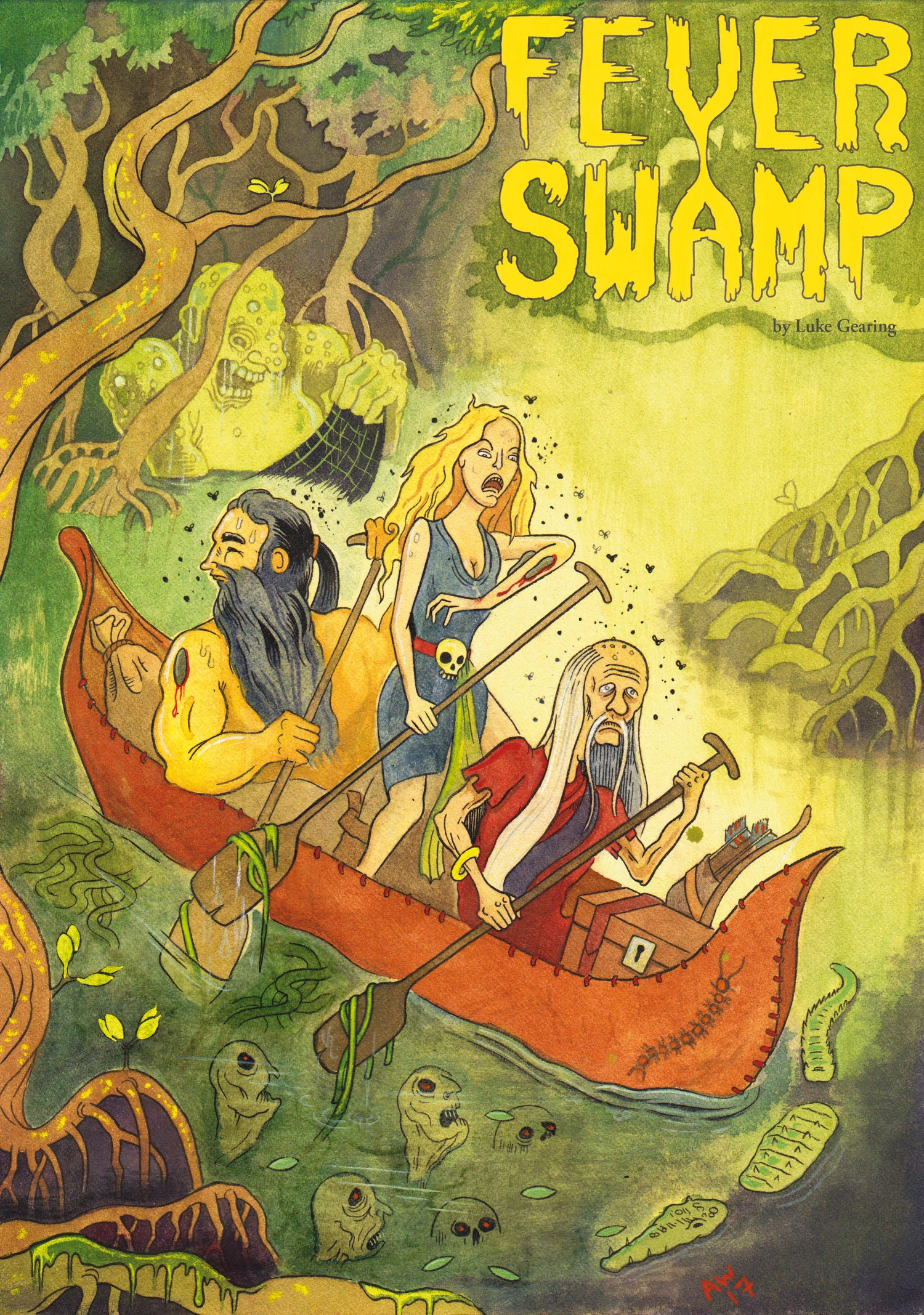 Image of Fever Swamp pre-order (print & PDF)