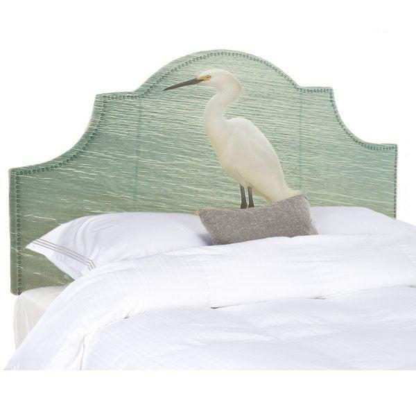Image of The Egret Queen Headboard